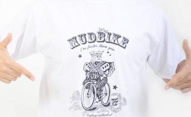 camiseta mudbikes branca