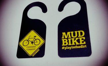 Aviso Bike no Teto